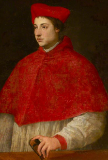 Portrait of an Unknown Young Cardinal, Photo credit: National Trust Images; https://artuk.org/discover/artworks/portrait-of-an-unknown-young-cardinal-219715#