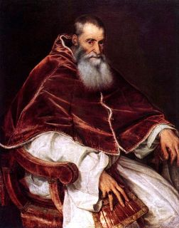 Pope Paul III by Titian, ca.1543