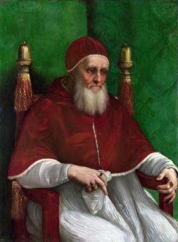 Pope Julius II_Raphael